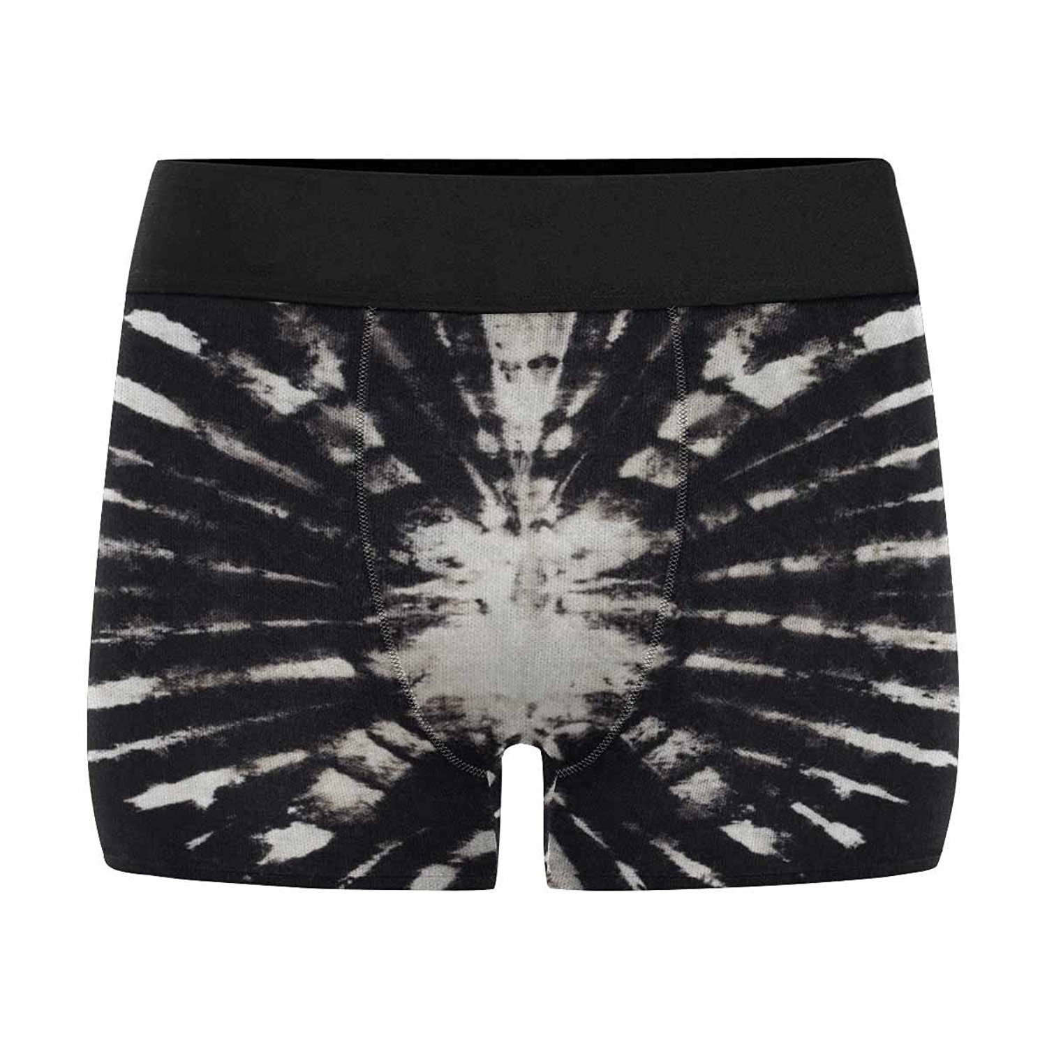 XS-3XL INTERESTPRINT Mens All-Over Print Boxer Briefs Tie Dye Fabric Background