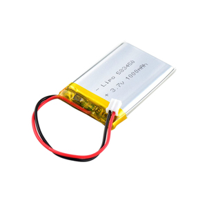 GEB 583450 3.7V 1000mAh rechargeable lithium ion polymer battery for digital products lipo battery