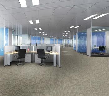 Warm Noiseproof Nylon Office Carpet Tiles