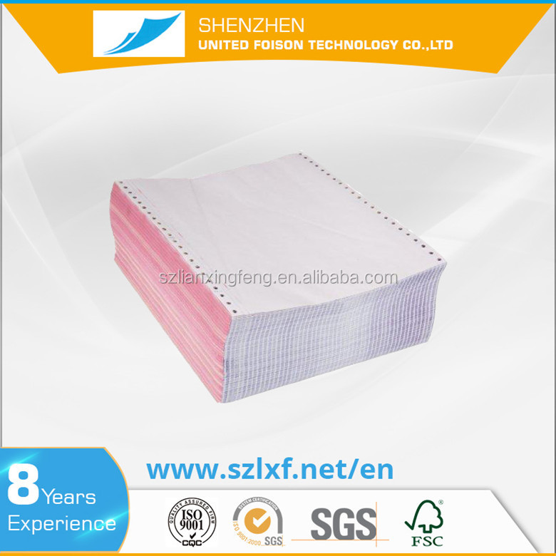 Factory direct sale NCR computer continous paper for printing with high quality