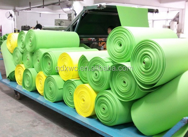 factory wholesale high quality 2mm foam rolls