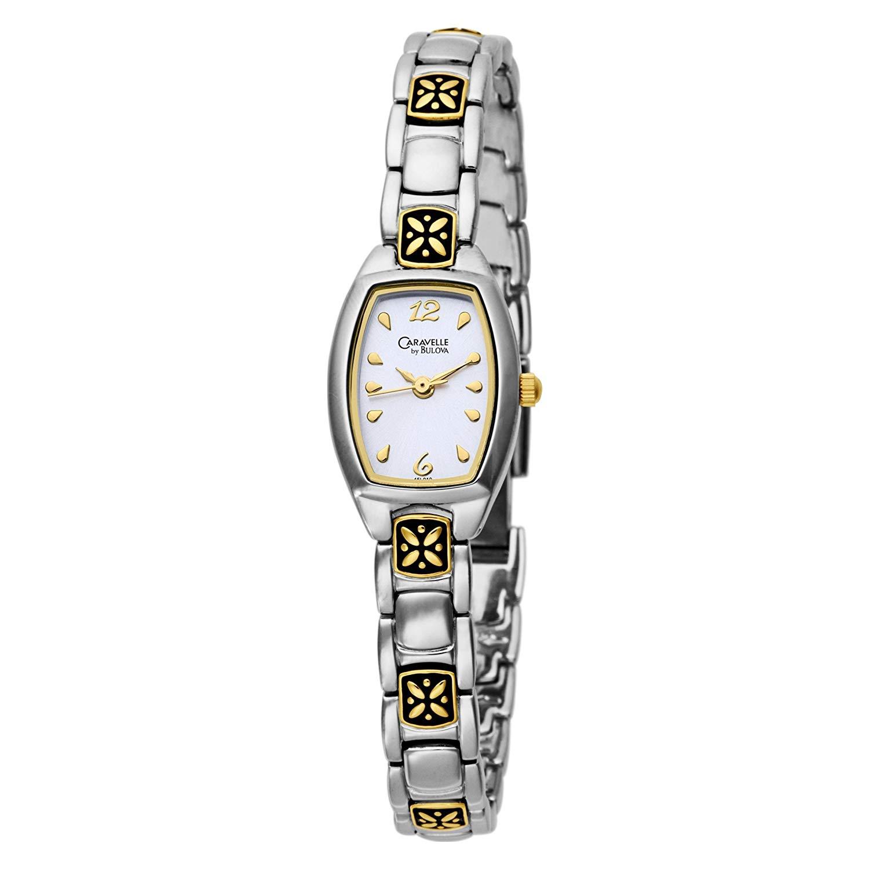 Caravelle by Bulova Women's 45L010 Bracelet Silver Dial Watch