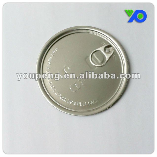 105mm aluminum Easy Open Can Lids