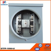 100/125A Square Single Phase Energy Meter Socket Parts