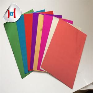wholesale colored self adhesive backed sealing food aluminum foil paper