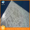Hot selling good quality decorative aluminium sheet perforated mesh curtain for wholesales