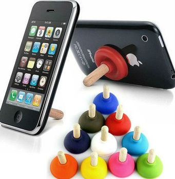 wooden Mobile phone seat