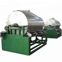 Drying drum scraper drum dryer for liquid or viscous materials