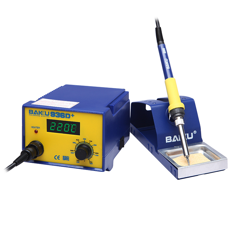 BAKU LCD Digital bga rework station with Welding Kit 50W (BK-936D+ Soldering Medicine)