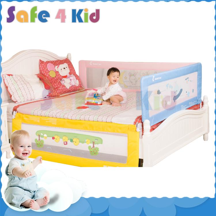 Safety hide child bedrail baby bed guard ,toddler bed rail
