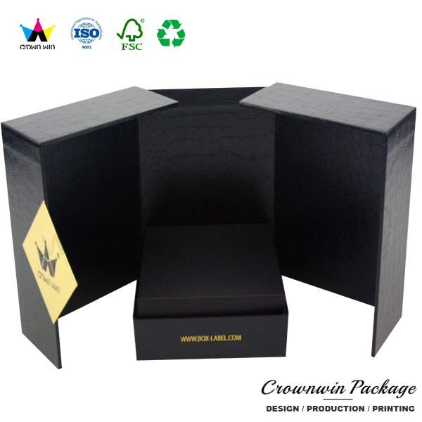 Luxury Weeding Door Gift Box For Candle Jars CrownWin Packaging