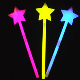 TR-GW-002 Glow Star stick for party productions /(ROHS,CE,EN71,ASTMP ) glow in the dark products