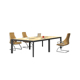 High grade boardroom table aluminum base modern conference table