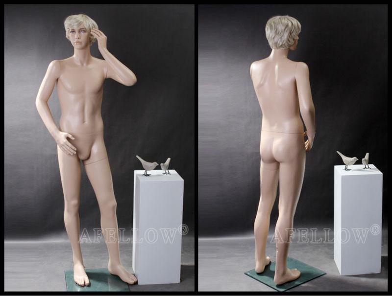 Mature male mannequins After Danger