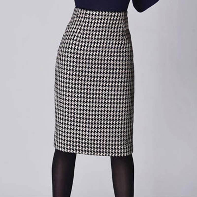 Plus Size Wool Skirt 74