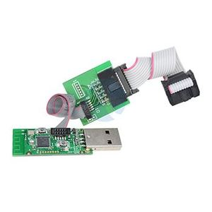 CC2531 CC2540 Zigbee Sniffer Wireless Board Bluetooth BLE 4 0 Dongle  Capture Module USB Programmer Downloader Cable Connector