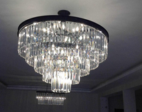 Modern glass pendant lighting & lamps/crystal chandeliers