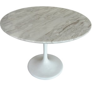 Round Marble Top Dining Table Tulip Table