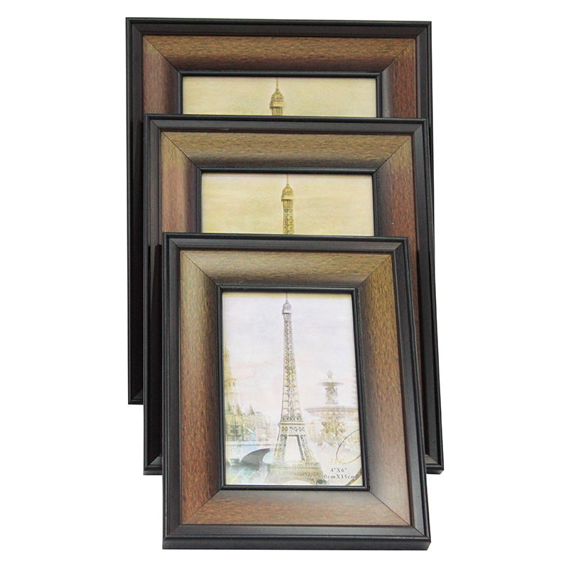 classic picture handmade wood photo frame designs for wedding or party gift