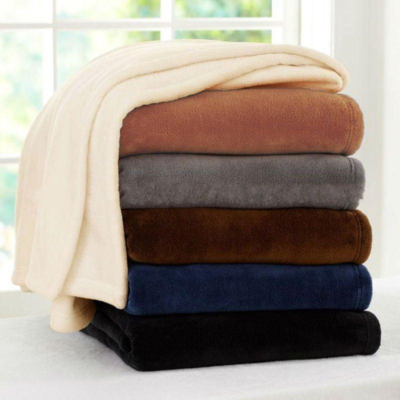 Hlht Exporting Standard Soft Hand Feeling Fleece Blanket100