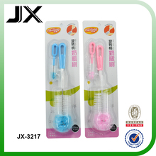 baby bottle cleaning brush with small cleaning brush 2 in 1