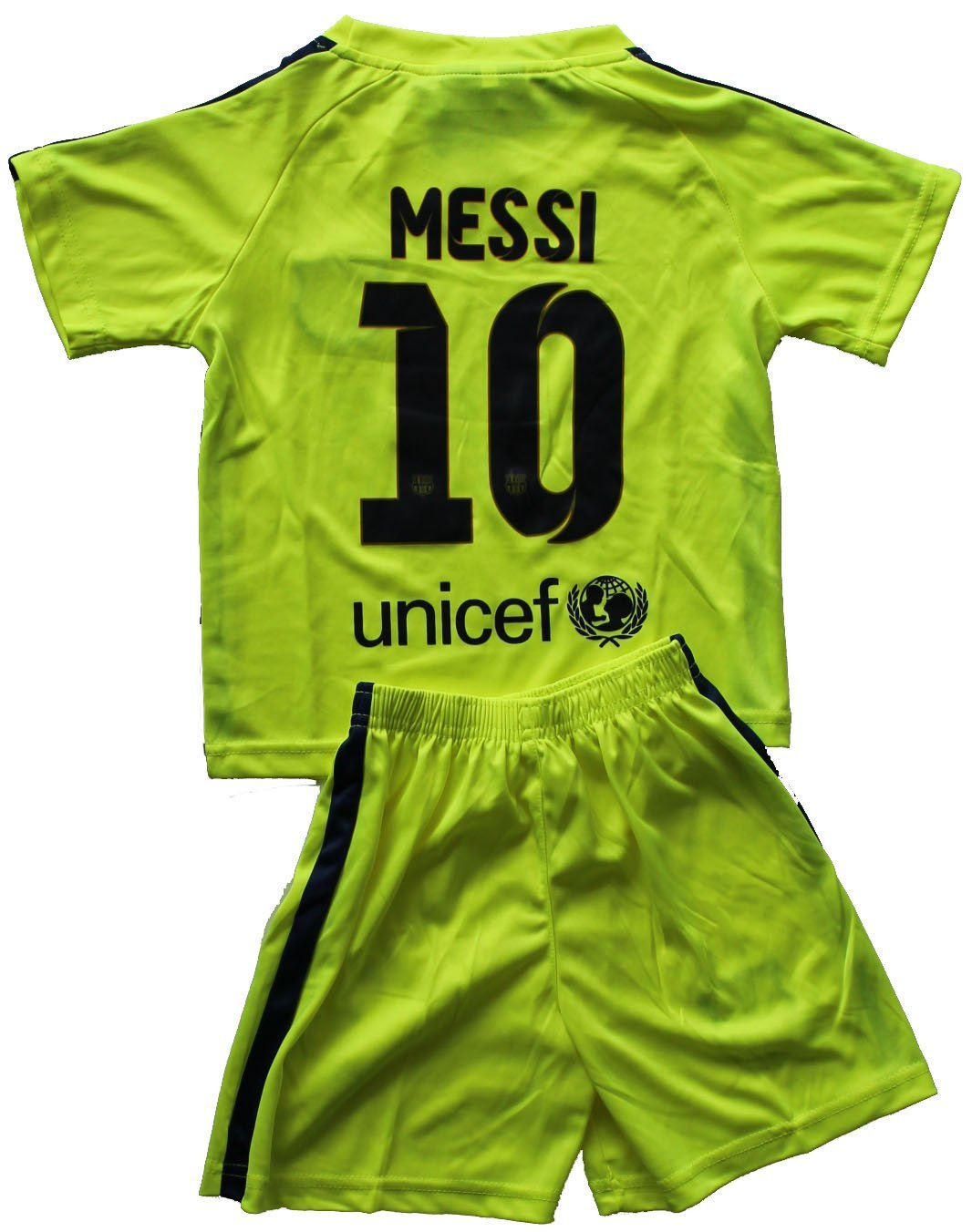 save off 9a0ab 9103a Buy 2014/2015 FC BARCELONA THIRD LIME GREEN LIONEL MESSI (10 ...