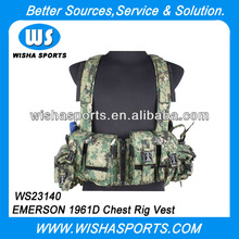 <span class=keywords><strong>Emerson</strong></span> <span class=keywords><strong>soft</strong></span> <span class=keywords><strong>Air</strong></span> Tactical 1961D Navy Seal Chest Rig Vest