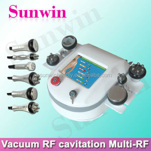 Best effetive body slimming shaping 4 inch fat reduce vacuum rf ultrasonic liposuction cavitation slimming machine