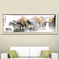 Quick drying big size wall art painting on canvas home decor