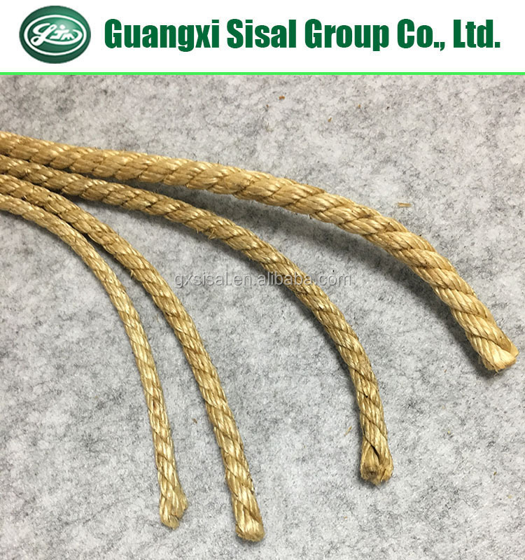 Sisal Rope Core for Wire Rope Made of UG Grade Sisal Fiber