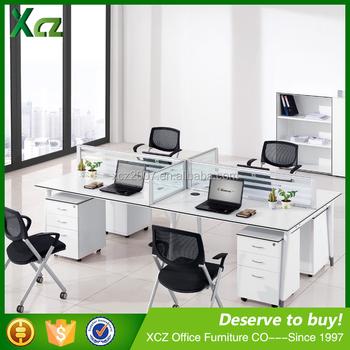 Moderne modulare büromöbel  China Lieferant Mfc Top Modular Bürotisch/exklusive Büromöbel ...