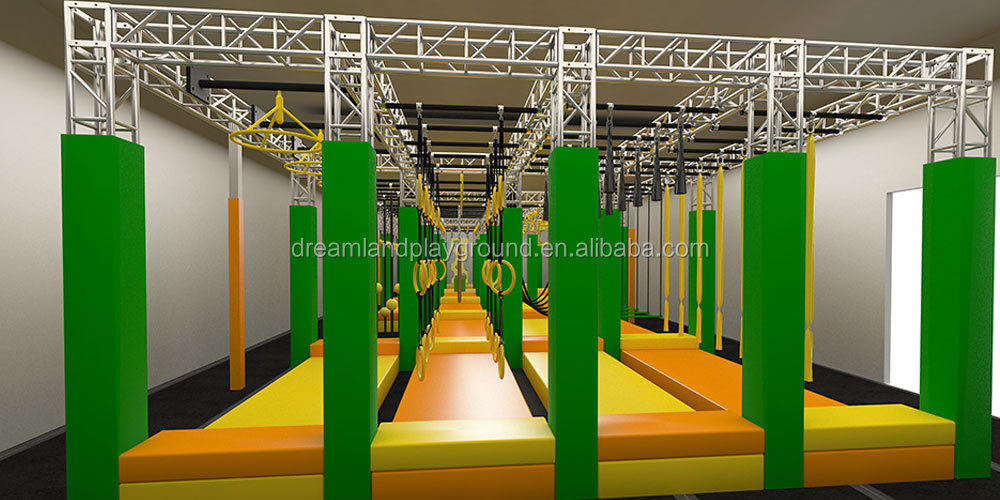 Attractive Ninja Warrior Obstacles for Sale, Ninja Warrior Equipment,Factory Ninja Warrior