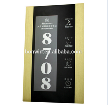 electronic stainless steel hotel house room door number plates with rh alibaba com merewood country house hotel rooms galt house hotel rooms