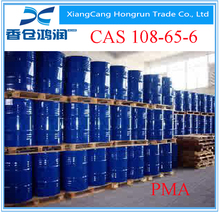 industrial grade PMA Propylene glycol methyl ether acetate for polymers