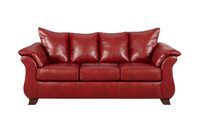 High Quality Modern Leather Sofa/Red Leathe Living Room Furniture