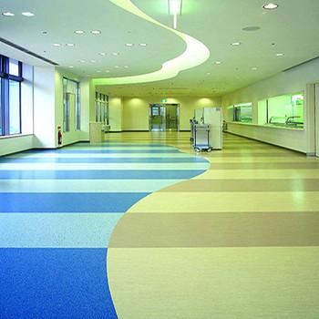 Pvc Vinyl Flooring Roll Hospital Use Pvc Plastic Floor