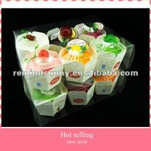 2012 Attract Fruit Cake 3D PVC Fridge Magnets