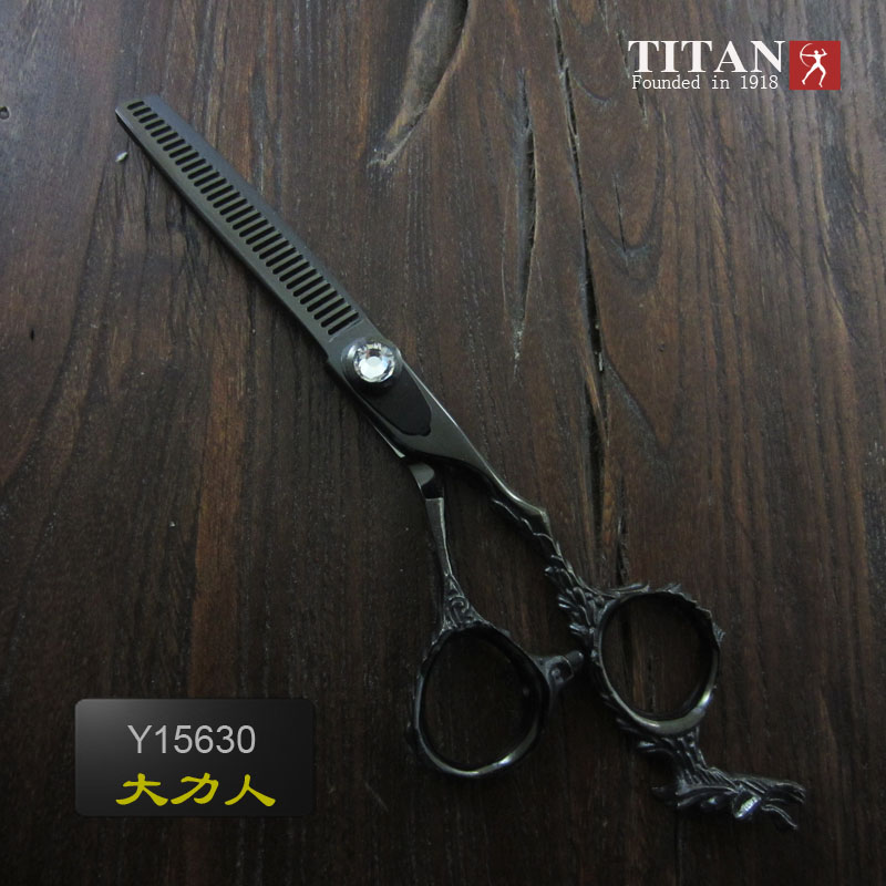 Titan 6inch hair cutting thinning shears baber scissors
