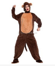 Top selling animal adult lady sexy monkey costume
