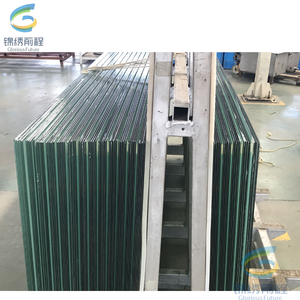 SGP PVB EVA film tempered laminated glass/10+10mm low e laminated glass price