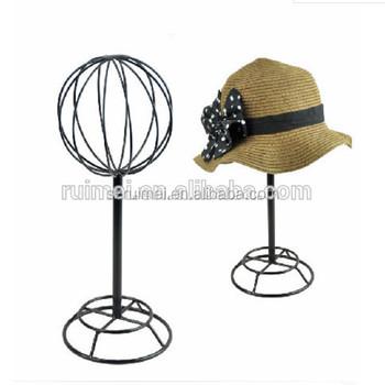 Merveilleux Antique Wire Fedora Hat Rack Tabletop Hat Rack Ball Shape Cap Rack