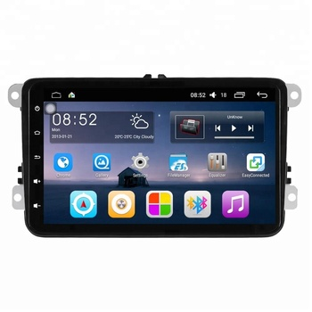 8 inches car GPS navigator bluetooth multimedia Android 6.0 Intel SoFIA 4 core 1+16GB WIFI for Volkswagen car