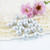 High Quality Colorful  More Types and All Size Half A Hole Plastic Pearl Beads Loose Ivory Pearl Jewelry DIY Jewelry Making