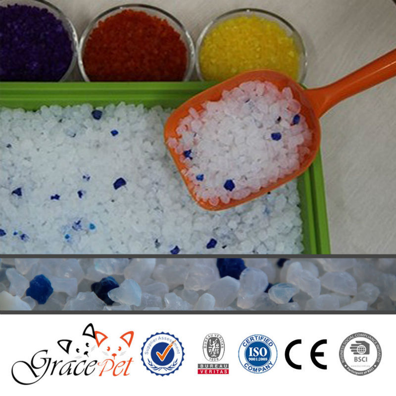 [Grace Pet] Your own brand silica gel cat litter wholesale