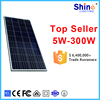 China manufacture PV poly solar panel 60W