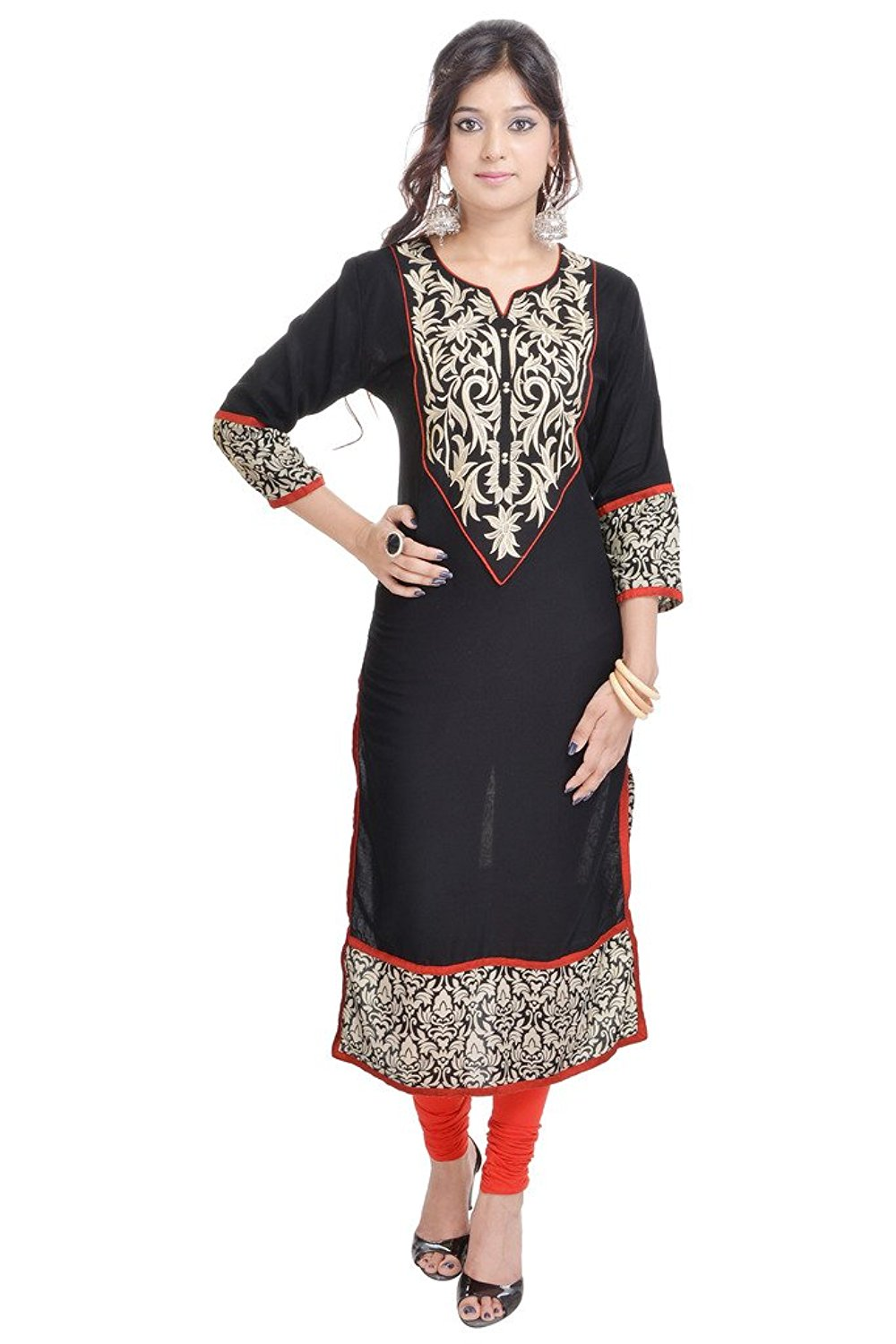 9605ee8db8 Get Quotations · Vihaan Impex Designer Fancy Bollywood Party Wear Indian  Kurti for Women