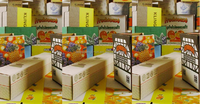 pizza/fruit/milk/vegetables/box making machine corrugated cardboard making -5player