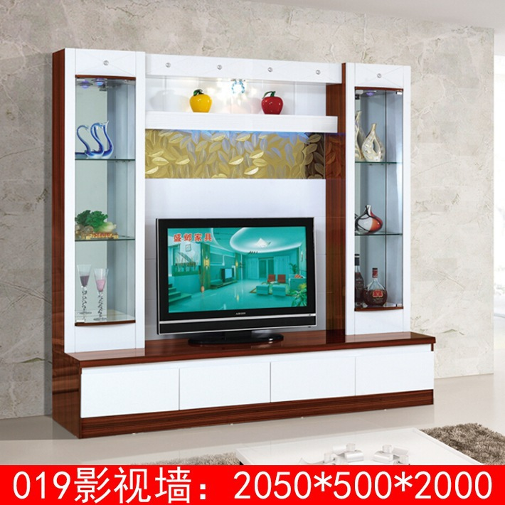 Wood Led Tv Wall Units Designs 019 Modern Unit