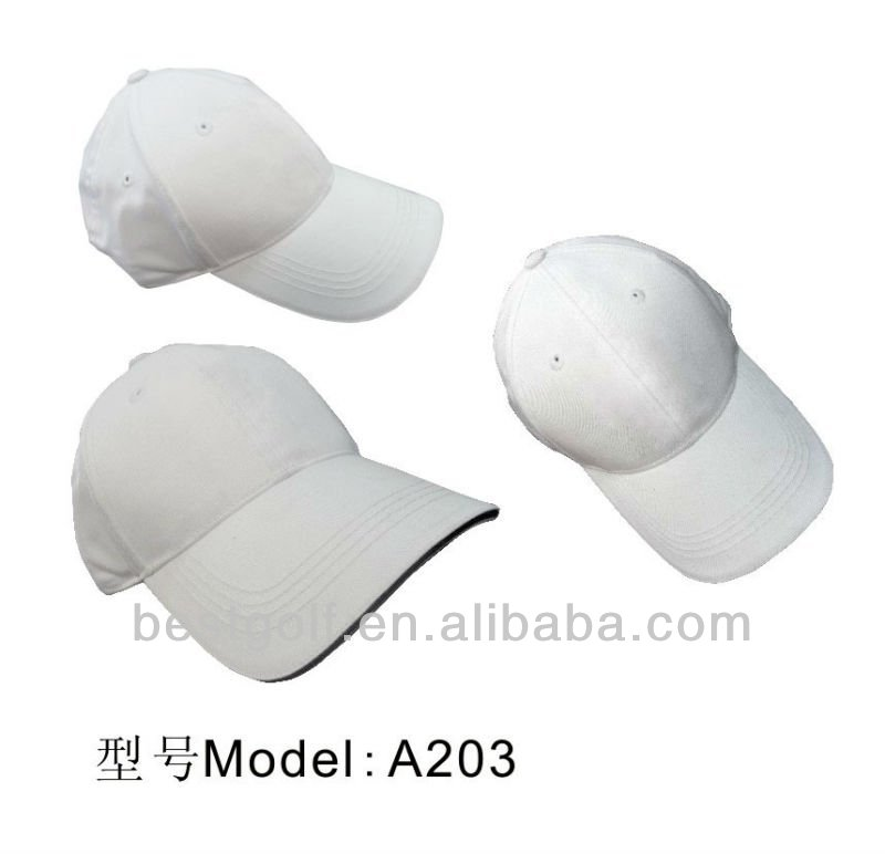 2016 Best-selling Oem high quality kinds golf caps New Design golf caps A20396