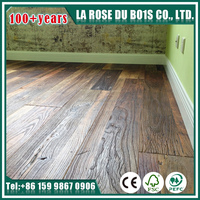 Made in China natural oiled reclaimed hardwood 3 layers engineered flooring for club